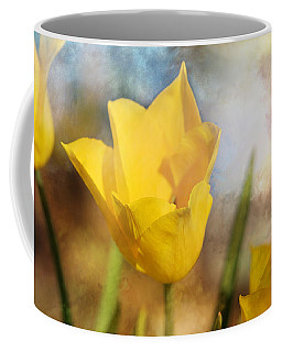 Water Lily Tulip Flower Coffee Mug