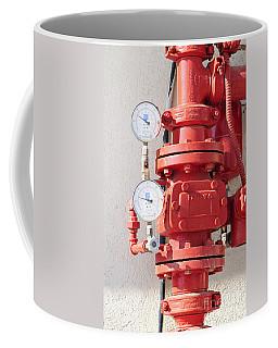Water Pressure Gauge  Coffee Mug
