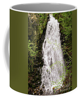 Water Roaring Down Cascade Falls, Farmington, Maine #30377 Coffee Mug