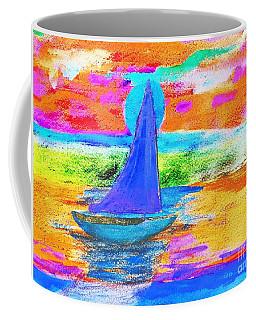 Watercolor Sailing Coffee Mug