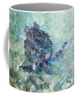 Watercolor Turtle Coffee Mug
