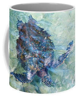 Watercolor Turtle Coffee Mug
