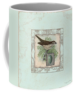 Welcome To Our Nest - Vintage Bird W Egg Coffee Mug