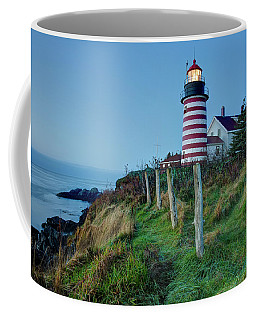 West Quoddy Head Light Coffee Mug