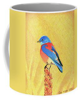 Western Bluebird Coffee Mug
