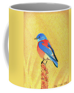 Western Bluebird Coffee Mug