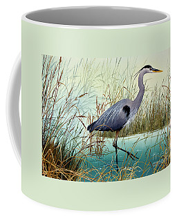 Coffee Mug featuring the painting Wetland Beauty by James Williamson