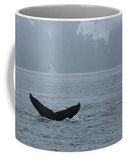 Coffee Mug featuring the photograph Whale Fluke by Brandy Little