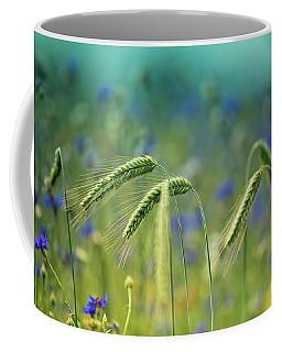 Wheat And Corn Flowers Coffee Mug