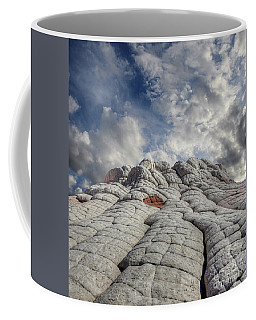 Coffee Mug featuring the photograph Where Heaven Meets Earth 2 by Bob Christopher