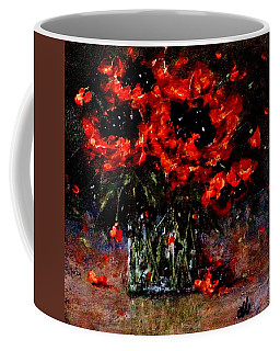Coffee Mug featuring the painting Whispers Of Love  by Cristina Mihailescu