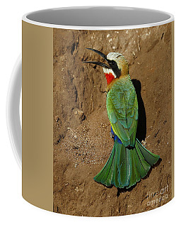 White Fronted Bee-eater Coffee Mug