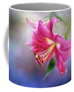 White Hall Lily Coffee Mug