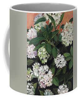White Hydrangeas  Coffee Mug