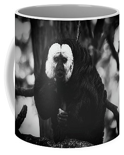 Coffee Mug featuring the photograph White Saki by The 3 Cats