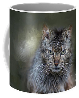 Wild Cat Portrait Coffee Mug