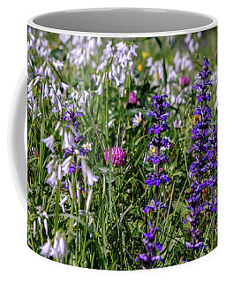 Coffee Mug featuring the photograph Wild Flowers by Patricia Hofmeester