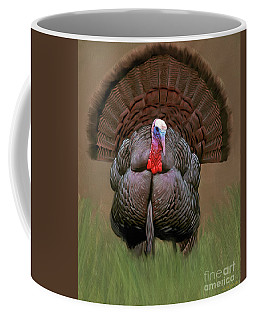 Wild Turkey Coffee Mug by Walter Colvin