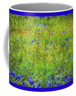 Coffee Mug featuring the photograph Wildflowers In Bloom by D Davila