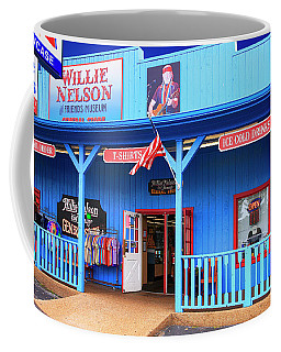 Willie Nelson And Friends Museum And Souvenir Store In Nashville, Tn, Usa Coffee Mug
