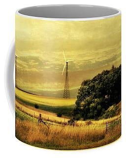 Coffee Mug featuring the photograph Wind Turbines by Julie Hamilton