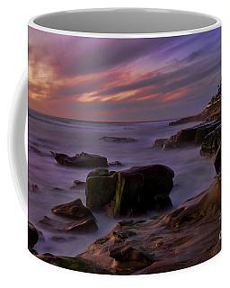 Windansea Beach At Dusk Coffee Mug