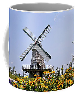 Windmill Coffee Mug by Teresa Zieba