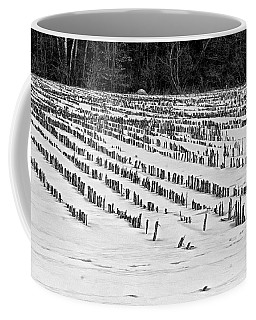 Winter Corn Field Coffee Mug