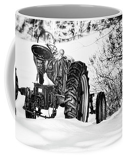 Coffee Mug featuring the photograph Winter Downtime by Richard Bean