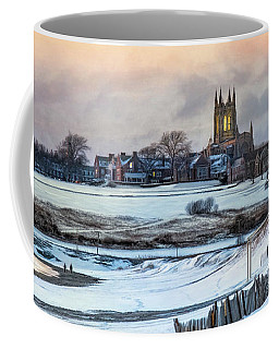Coffee Mug featuring the photograph Winter Dusk by Robin-Lee Vieira