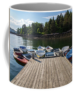 Coffee Mug featuring the photograph Winter Harbor Maine  by Trace Kittrell