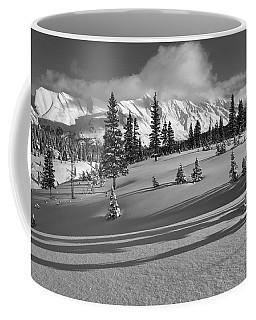 Winter In Banff Coffee Mug