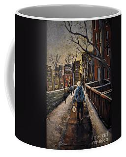 Winter In The City Coffee Mug