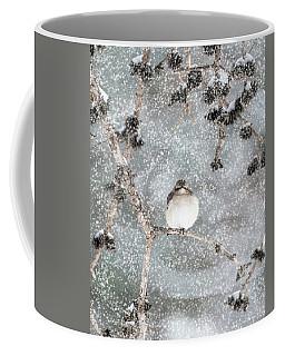 Winter Mockingbird Coffee Mug