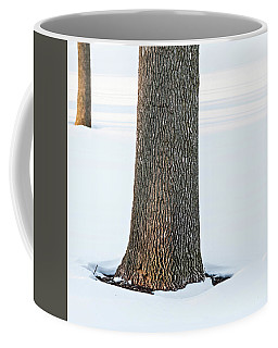 Winter Scene - Abstract Coffee Mug