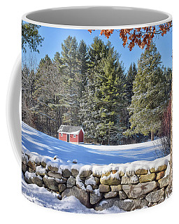 Winter Scene Coffee Mug by Tricia Marchlik