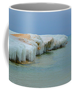 Coffee Mug featuring the photograph Winter Sculpting by SimplyCMB