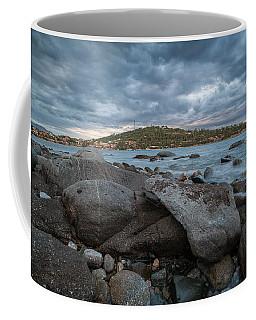 Winter Sea In Porto Frailis  Coffee Mug