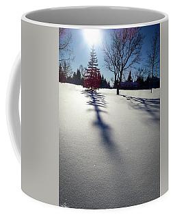 Winter Shadows Coffee Mug