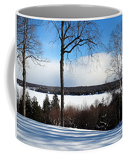 Winter View Of Sister Bay Coffee Mug