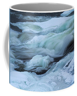 Winter Waterfall Coffee Mug