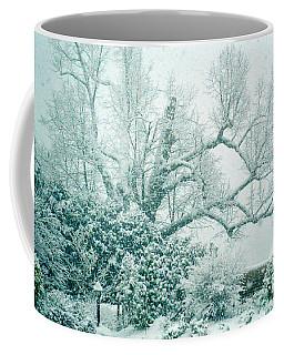 Coffee Mug featuring the photograph Winter Wonderland In Switzerland by Susanne Van Hulst