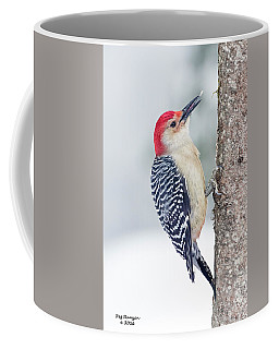 Winter Woodpecker Coffee Mug