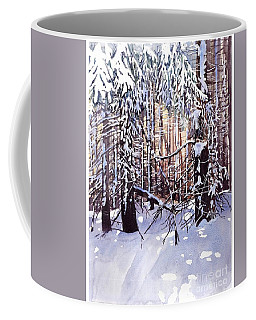 Wintertime Painting Coffee Mug