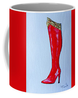 Wonder Woman's Boot Coffee Mug