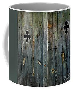 Wooden Door Coffee Mug