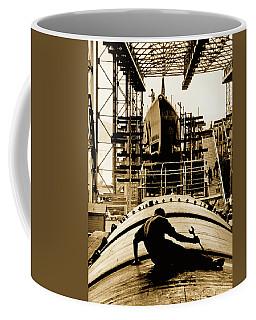 Working On Submarine 1943 Coffee Mug