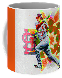 Yadier Molina St. Louis Cardinals Baseball Coffee Mug