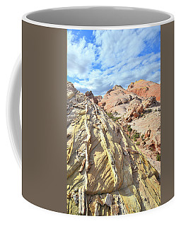 Yellow Brick Road In Valley Of Fire Coffee Mug