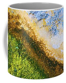 Yellowstone Abstract Coffee Mug